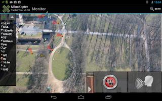 Screenshot of MikroKopter Tablet Tool
