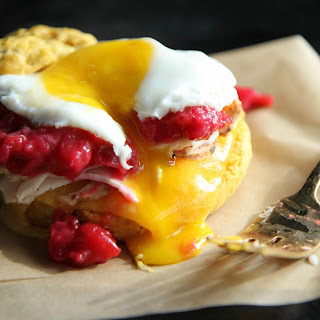 Sweet Potato Biscuit Breakfast Sandwich