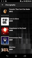 Screenshot of Marillion - Official App