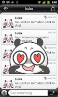 Screenshot of Panda Emoji