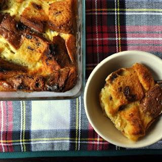 Panettone Bread Pudding Recipes