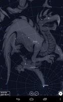 Screenshot of Stellarium Mobile Sky Map