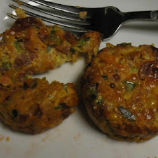 Easy Homemade Veggie Crab Cakes/Sliders-Weight Watchers 4 Points