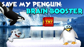 Screenshot of Save My Penguin: Brain Booster
