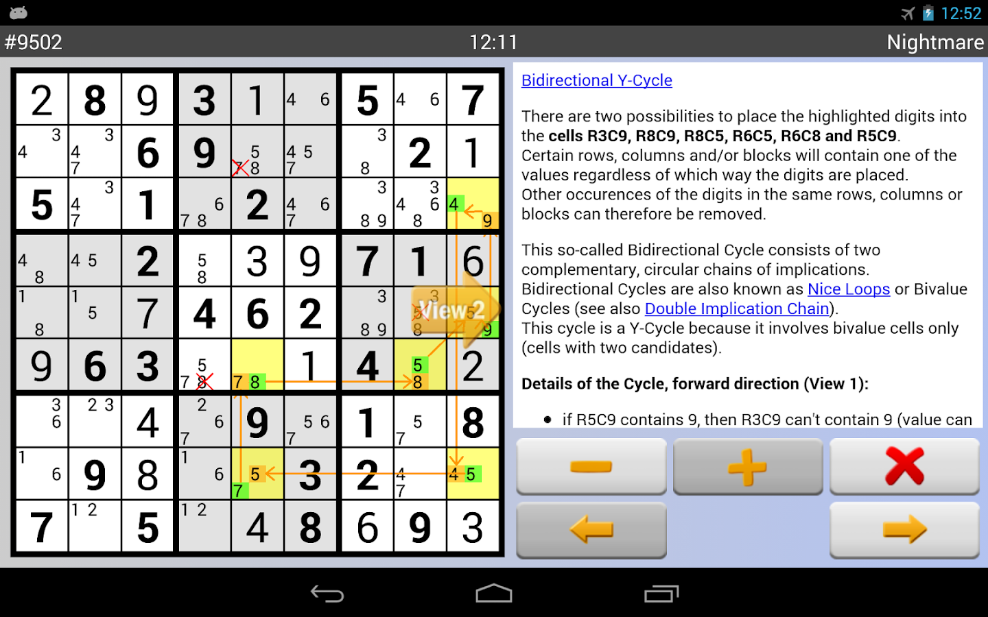 Sudoku Grab'n'Play Plus Screenshot 12