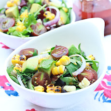 Grilled Corn Salad with Smokey Paprika Vinaigrette