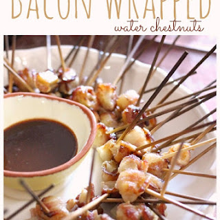 Bacon Wrapped Water Chestnuts Appetizer
