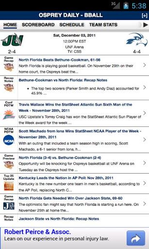 North Florida Basketball
