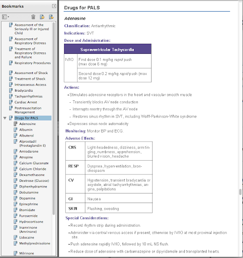 PALS Provider Manual - screenshot