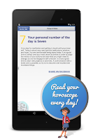 Screenshot of Numerology Daily Horoscope