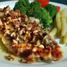 Sauteed Catfish Fillets with Pecan Butter Sauce