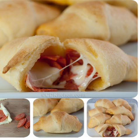 Mini Pepperoni Rolls