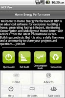 Screenshot of Home Energy Performance UK