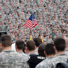 Salute to the Flag and Army Song by Tyrell Heaton - News & Events US Events ( army, flag, west point, usma )