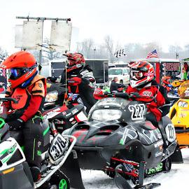 Snocross Racing by Jon Radtke - Sports & Fitness Other Sports ( snocross racing )