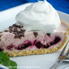 Cherry Cheesecake Ice Cream Pie