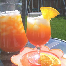 Iced Mandarin Orange Tea