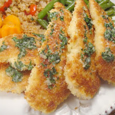 Parmesan Chicken With Garlic Butter