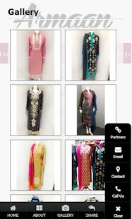 Armaan Clothing - screenshot