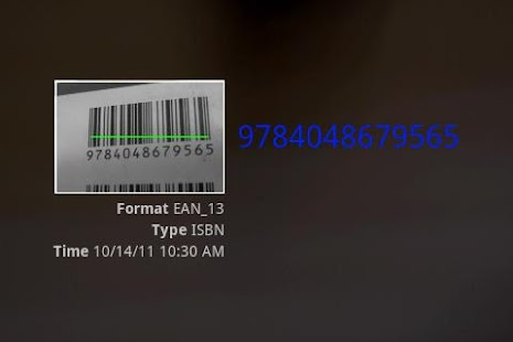 Barcode2BookI - screenshot