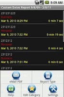 Screenshot of Call Log Extender Free