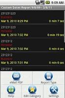 Screenshot of Call Log Extender Free