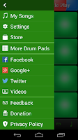 Screenshot of Synthetic Drum Pads