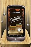 Screenshot of Falldown Lite