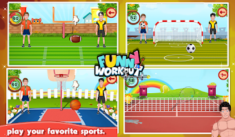 Screenshot of Funny Workout - Kids Game