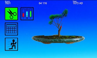 Screenshot of Bonsai 2D Tree Simulator