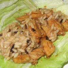Chicken Hoisin Lettuce Wraps
