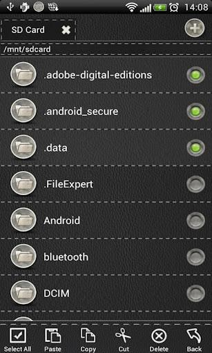 【免費工具App】File Expert Black Leather The-APP點子