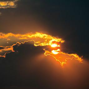 Cloud Magic by Linda Hogue - Landscapes Sunsets & Sunrises (  )