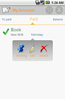Screenshot of Money Easy