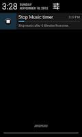 Screenshot of Cool timer : Stop music & task