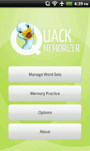 Quack Memorizer