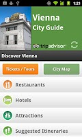 Screenshot of Vienna City Guide