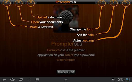 Prompterous