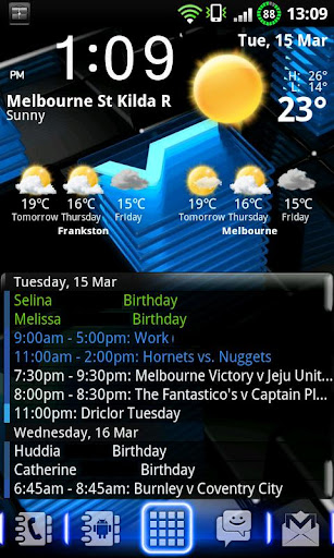 Agenda Widget Plus - screenshot