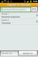 Screenshot of Ceza Muhakemesi Kanunu - CMK