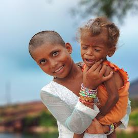 by Mukesh Chand Garg - Babies & Children Child Portraits