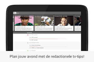 Screenshot of TVGiDS.tv - dé tv gids app