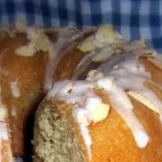 Almond Cake with Kirsch