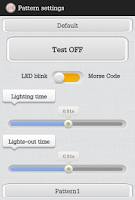 Screenshot of Flashlight, Notification,Morse
