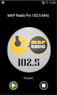 MAP Radio FM 102.5 MHz - screenshot