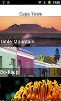 Screenshot of South Africa Travel