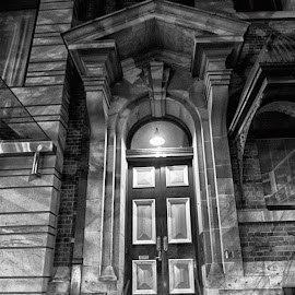 Come on in!! by Right Image Photography - Buildings & Architecture Architectural Detail ( doors, wow, building, nikon life, black and white, 14-24, nikon, stunning, right image photography, i am nikon )