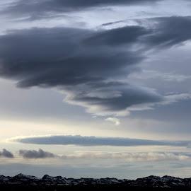 Cloud formation by Anna Kornelíusdóttir - Landscapes Weather