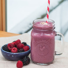 Berry Oat Smoothie