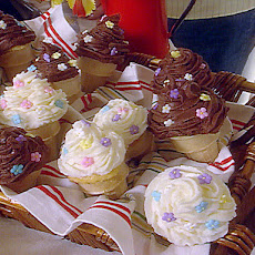 'Cake' Ice-Cream Cones